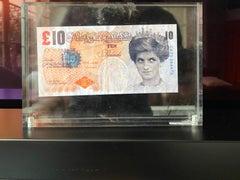 Banksy Bi-faced tenner 10 pounds