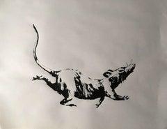 Banksy - Rat - 2019
