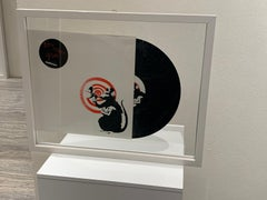 "BANKSY - vinyl  ""Dirty Funker Future Radar Rat"" 33 Tours- Red & White Edition"