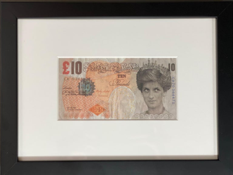 Banksy Di - Faced Tenner  For Sale 1