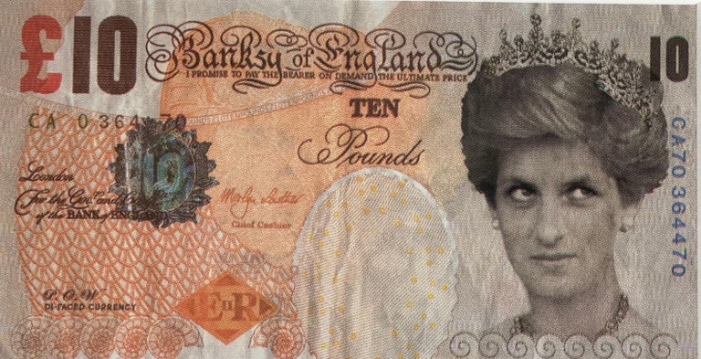 Banksy Di - Faced Tenner  For Sale 2