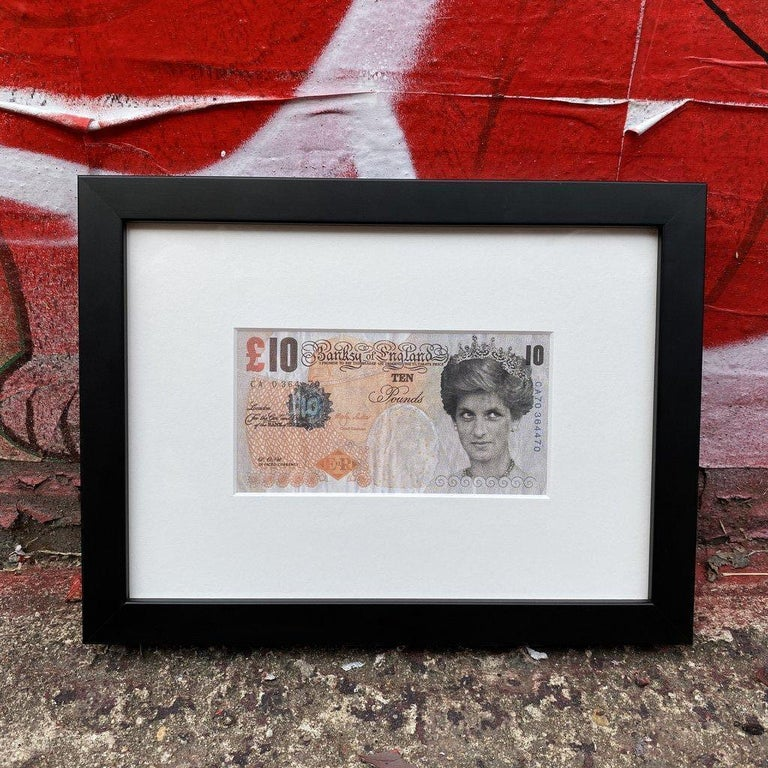 Banksy Di - Faced Tenner  - Print by Banksy
