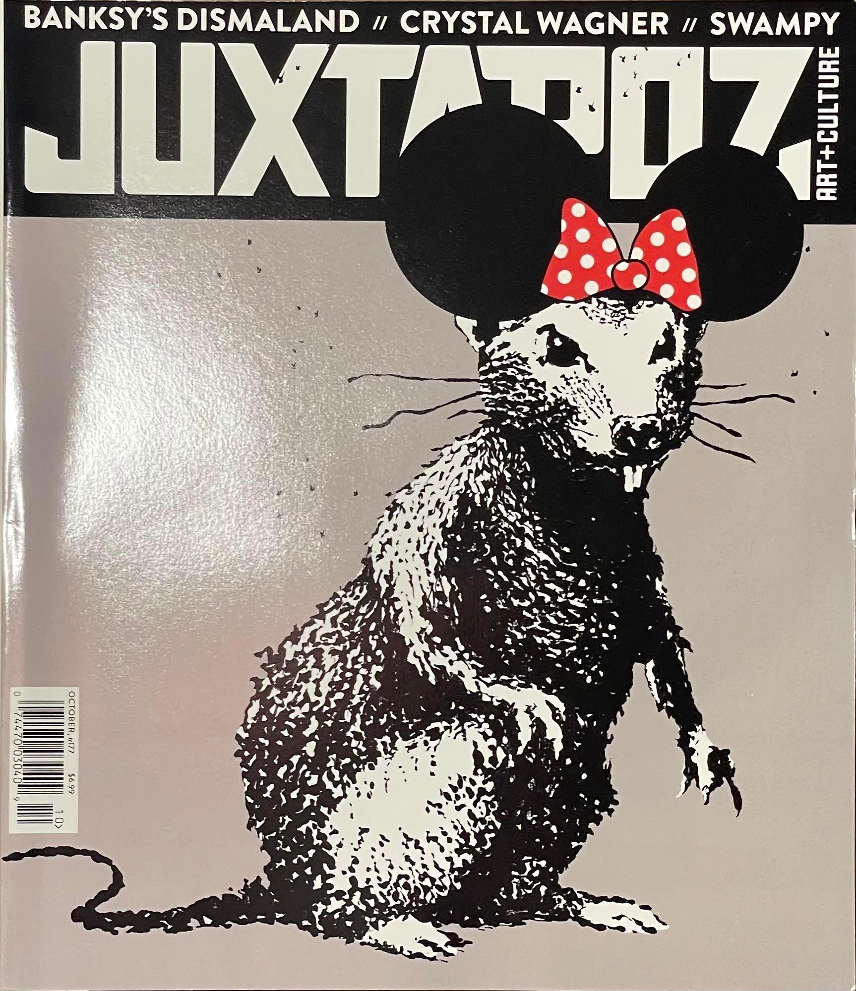 Banksy Juxtapose Magazine DIsmaland 2015 Original Copy Cyrstal Wagner Interview