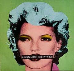 Banksy Kate Moss record cover art (Kate Moss Banksy)