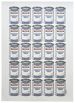 BANKSY SOUP CANS