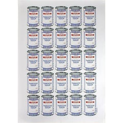 Banksy, Soup Cans, Offset Lithograph on Paper, 2010