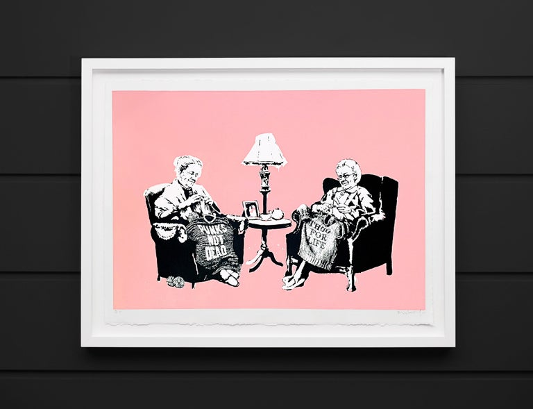 Grannies (Unique), 2006 - Print by Banksy