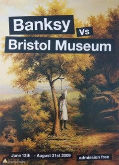 Klansman Banksy vs Bristol Museum, Contemporary Art Show Poster