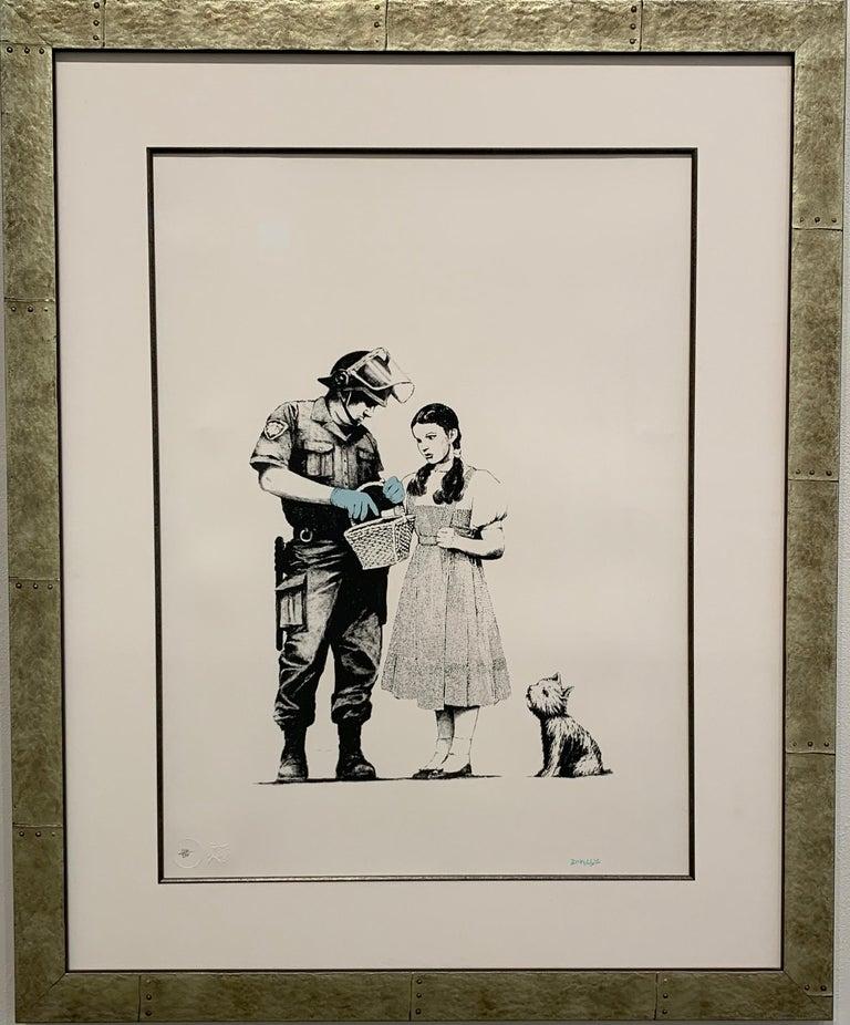Stop & Search - Print by Banksy