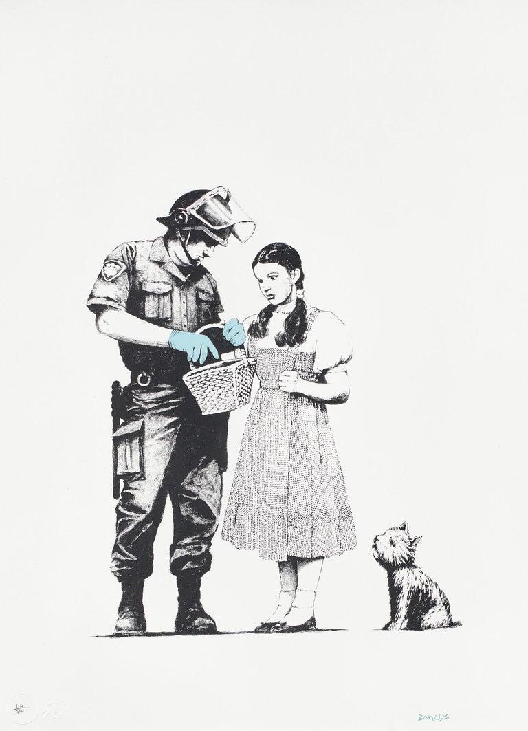 Banksy Print - Stop & Search