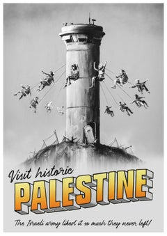 Visit Historic Palestine - Bansky from Walled Off Hotel
