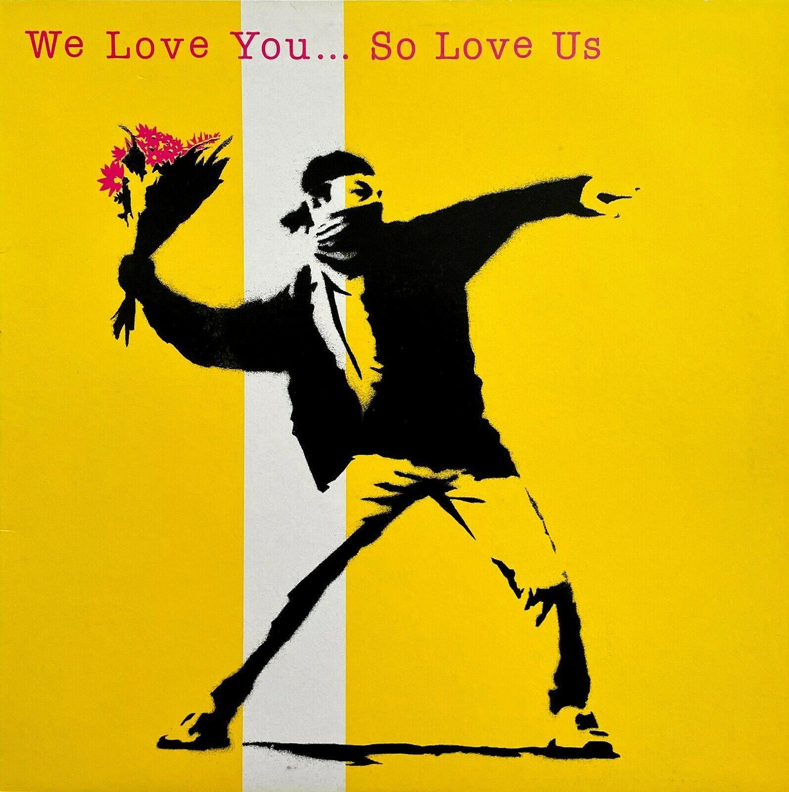 We Love You... So Love Us, Vinyl Record Sleeve
