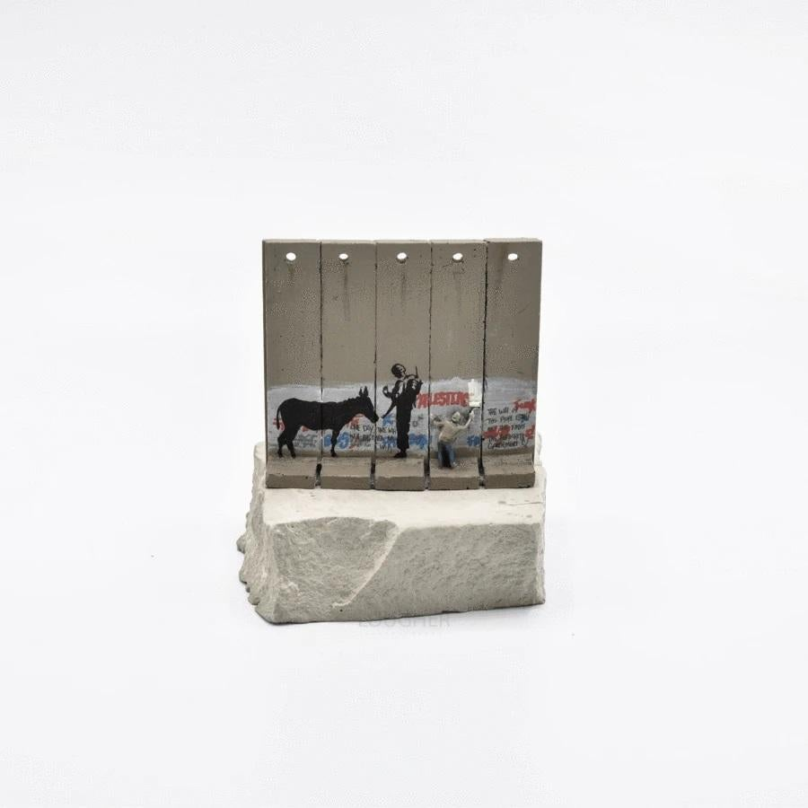 Walled Off Hotel - Wall Sculpture (Donkey Documents)