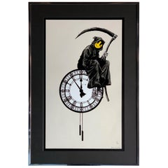 Banksy Grin Reaper 2005 Signed