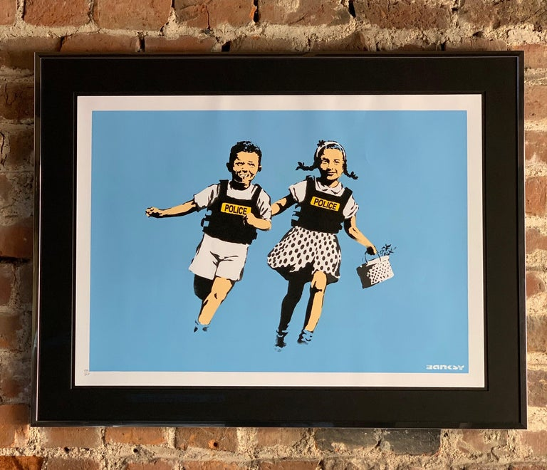Modern Banksy Jack and Jill, 2005 Unsigned For Sale