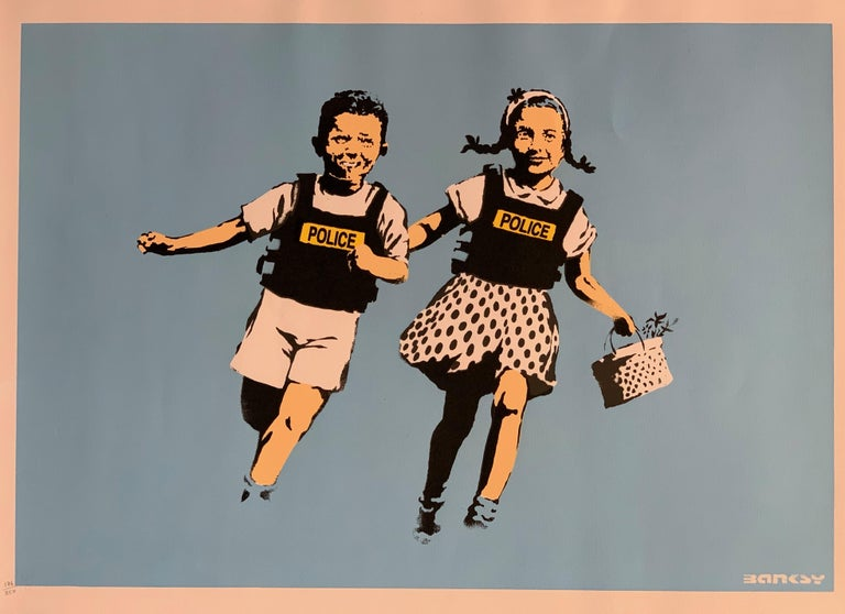 British Banksy Jack and Jill, 2005 Unsigned For Sale