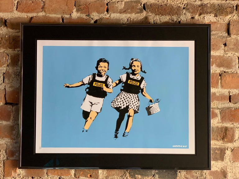 Contemporary Banksy Jack and Jill, 2005 Unsigned For Sale