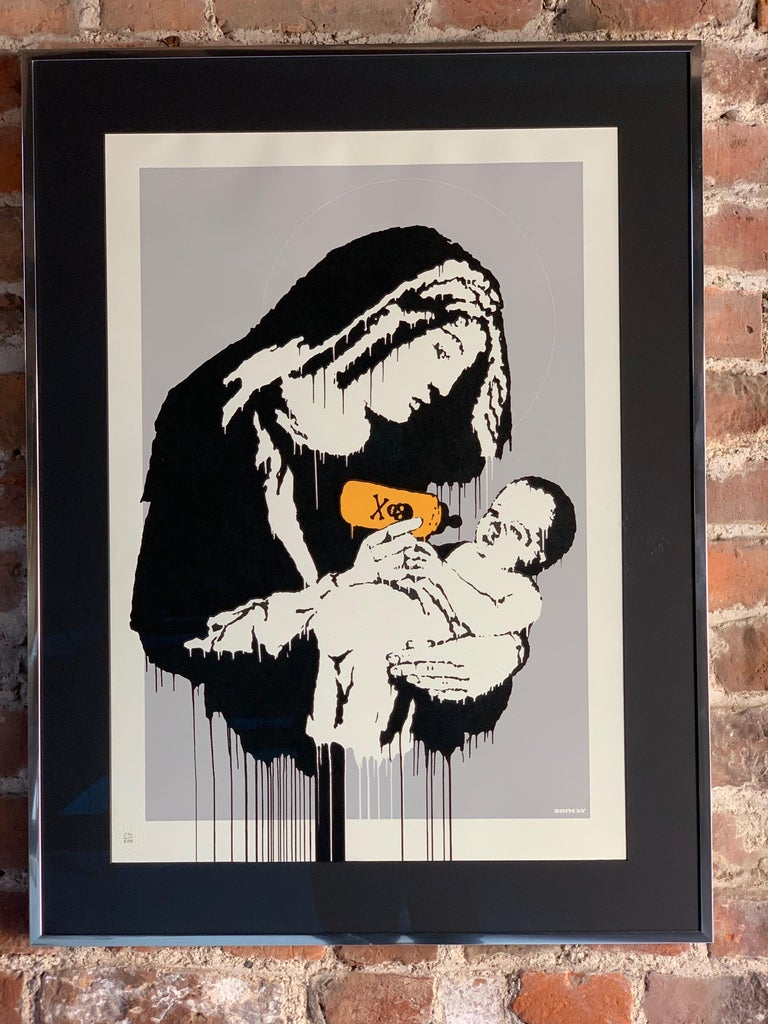 British Banksy Toxic Mary Unsigned For Sale
