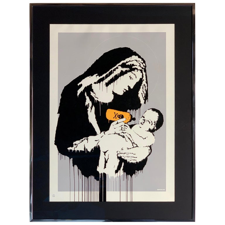 Banksy Toxic Mary Unsigned For Sale