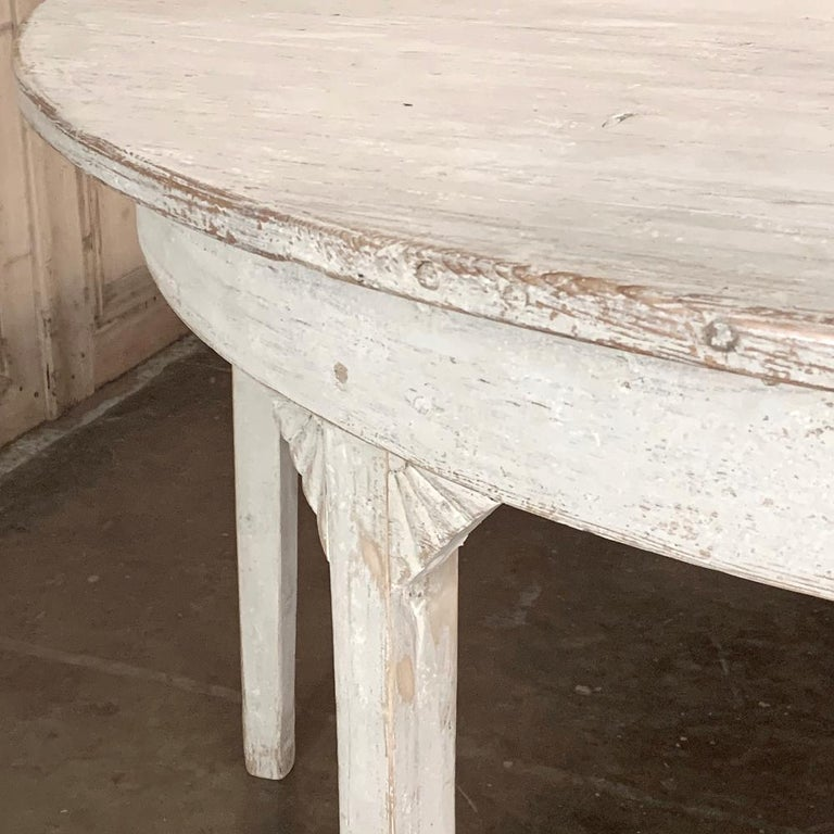 Banquet Table, Painted, Early 19th Century Swedish Gustavian Period For Sale 5