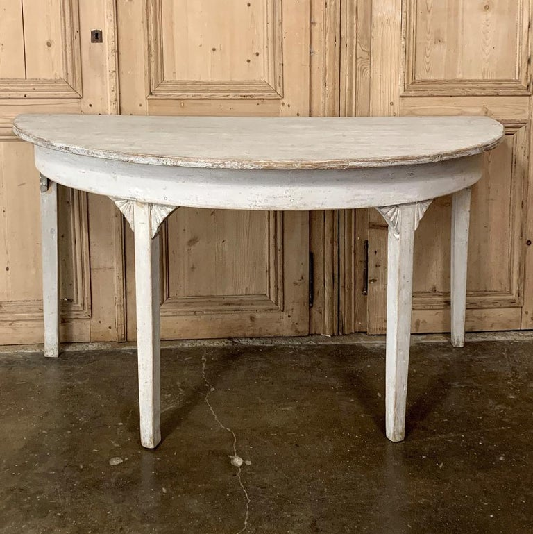 Banquet Table, Painted, Early 19th Century Swedish Gustavian Period For Sale 10