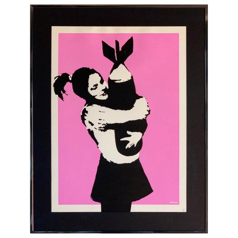 Bansky Bomb Hugger Bomb Love 2005 Unsigned For Sale