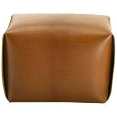 Bao Natural Leather Ottoman