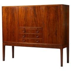 Bar Cabinet, Anonymous, Designed for C.B. Hansens Etablissement, Denmark, 1950's
