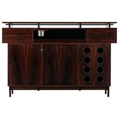 Bar Cabinet in Rosewood by Dyrlund in Denmark
