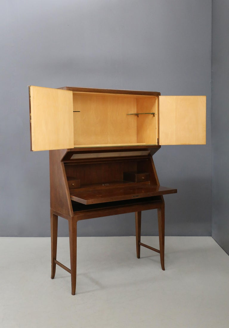 Mid-Century Modern Bar Cabinet Midcentury Italian Manufacture, 1950s For Sale