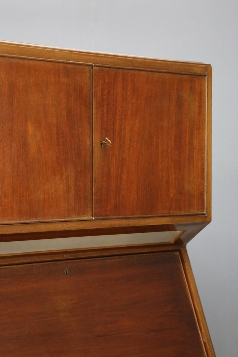 20th Century Bar Cabinet Midcentury Italian Manufacture, 1950s For Sale