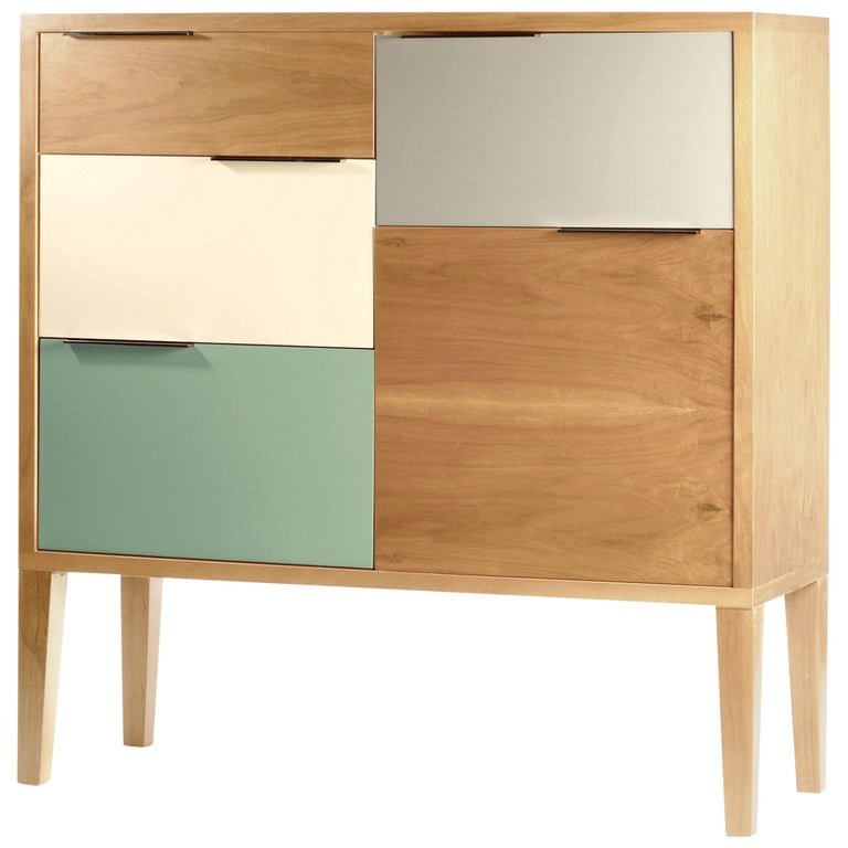 Bar Cabinet Muse In Wood And Lacquer For Sale At 1stdibs