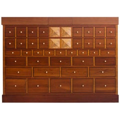 Bar Cabinet of Cherrywood by Sellaro Arredamenti S.R.L