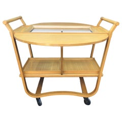 Bar Cart by Edward Wormley for Dunbar