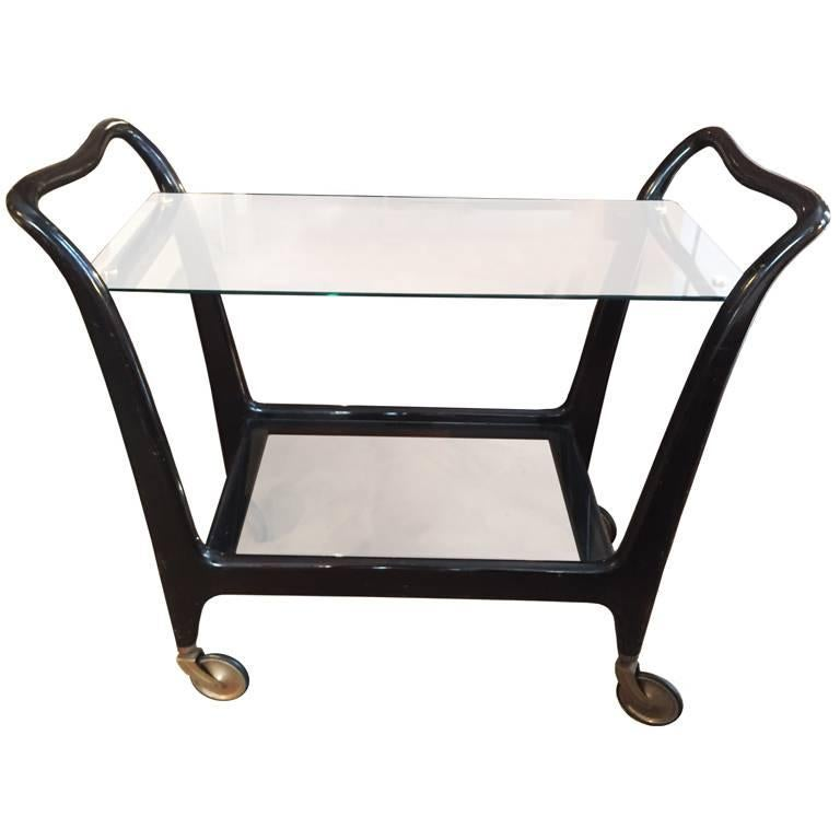Bar Cart Designed by Ico Parisi, Italy, 1950s