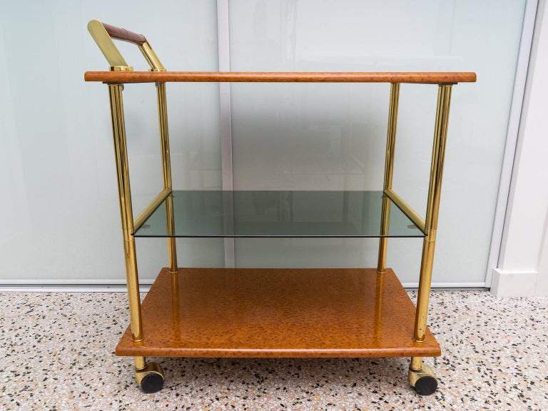 Italian Bar Cart For Sale