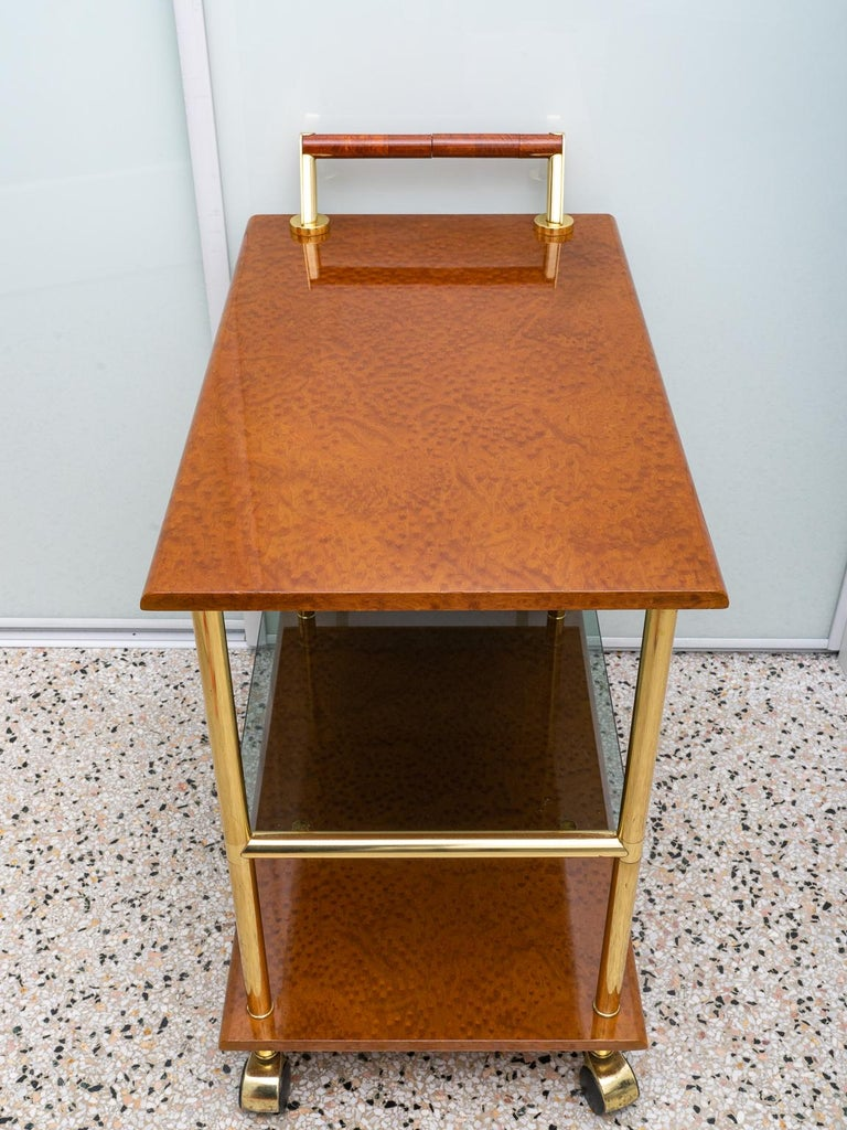 Bar Cart In Good Condition For Sale In West Palm Beach, FL