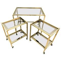 Bar Cart Gigognes Italian Design