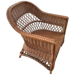 Bar Harbor Wicker Chair