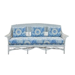 Bar Harbor Wicker Sofa