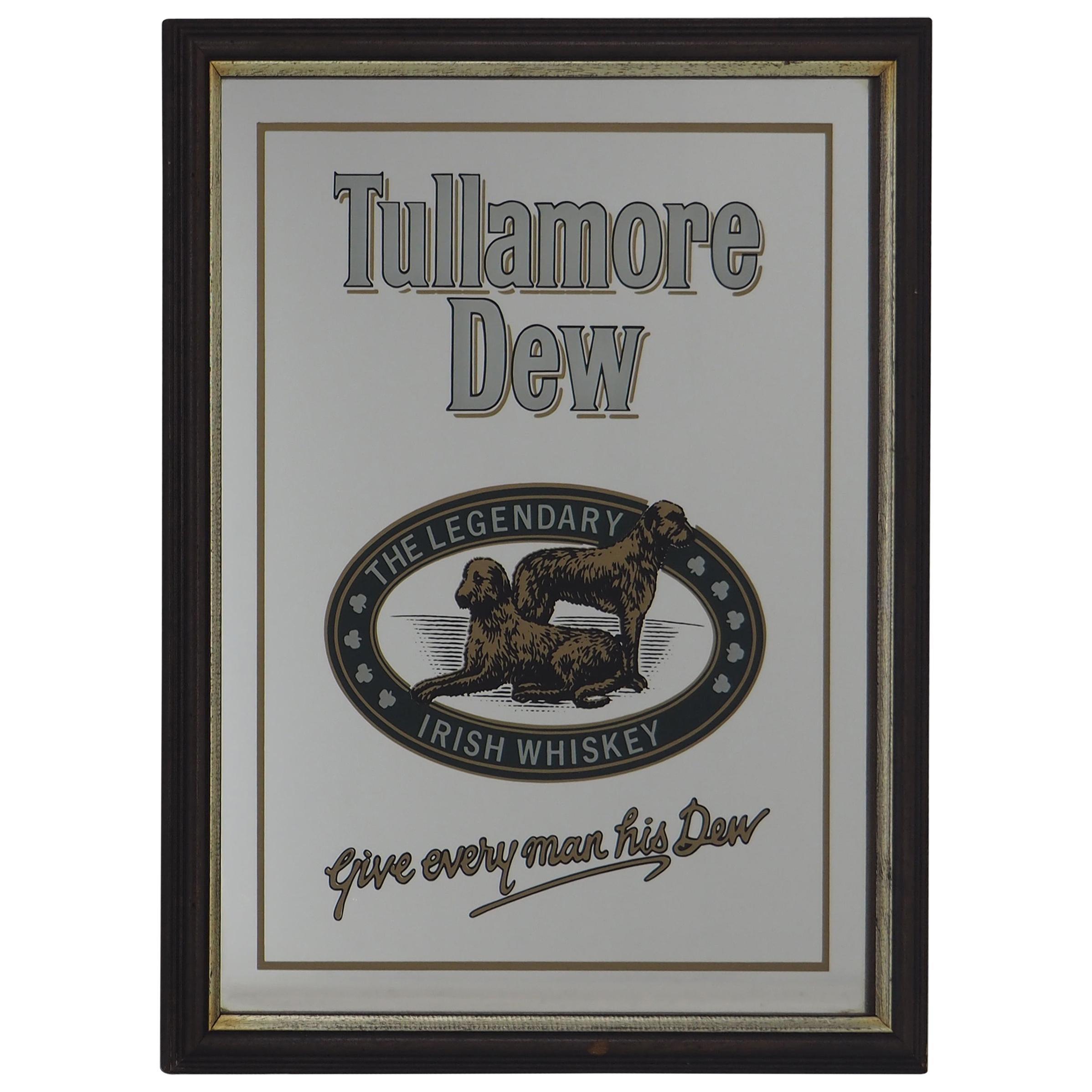 Bar Mirror Tullamore Dew Sign
