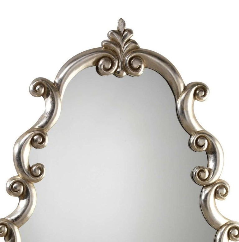 Bar silver mirror by Spini Firenze.