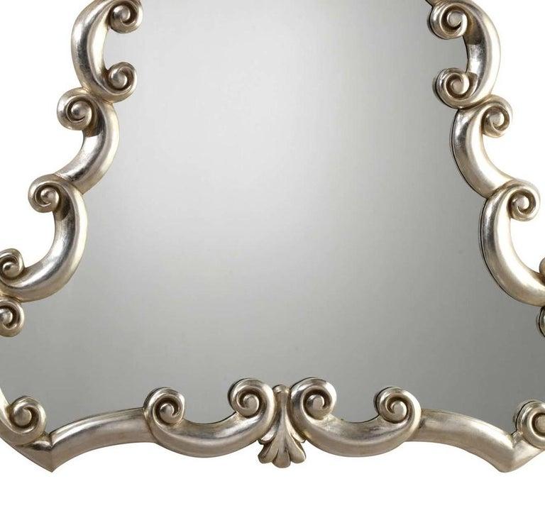Italian Bar Silver Mirror by Spini Firenze