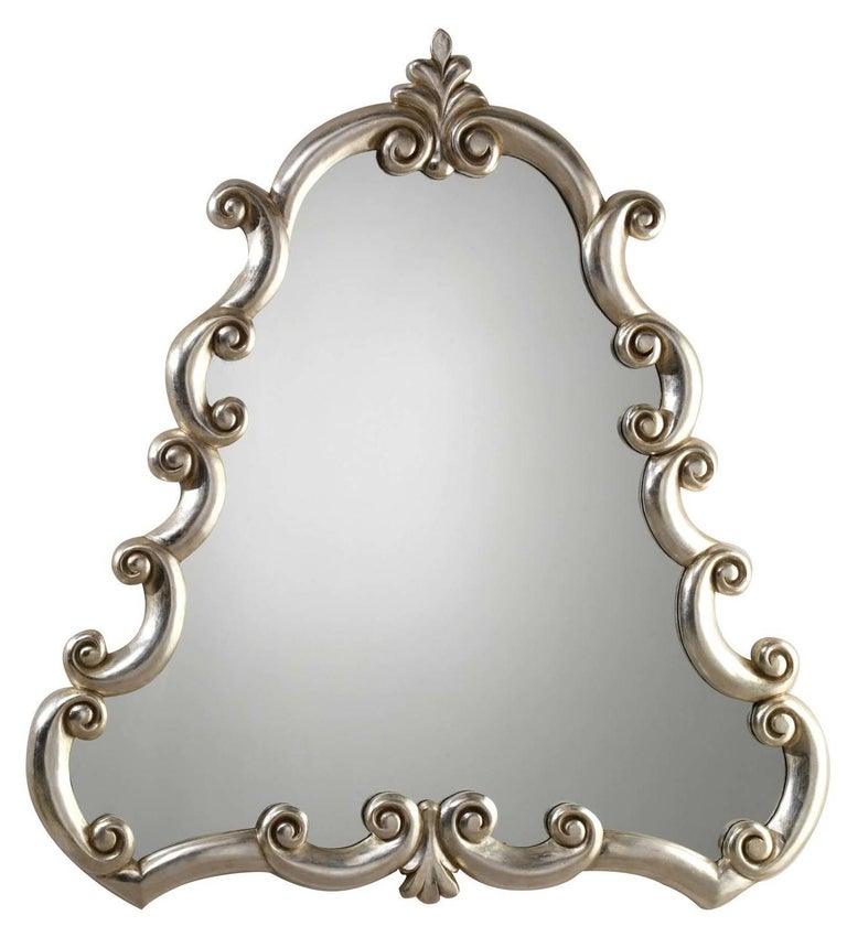 Bar Silver Mirror by Spini Firenze In New Condition In Milan, IT
