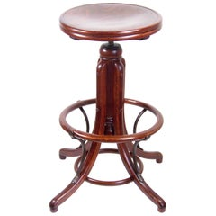 Bar Stool, High Swivel Stool, Thonet, circa 1920