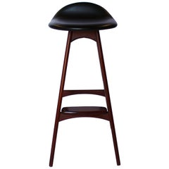 Bar Stool, Model OD61, Designed by Erik Buch, 1960s