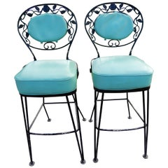 Bar Stools by Woodard Rare