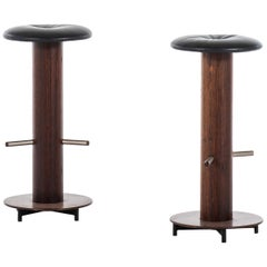 Bar Stools in Rosewood Produced in Denmark
