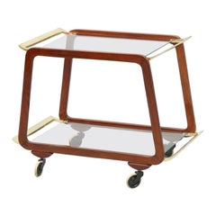 Bar Trolley, Vienna 1950, Attributed Oswald Haerdtl