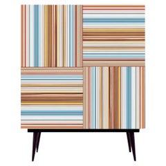Bar Warm Multi-Color Glass Doors by Orfeo Quagliata